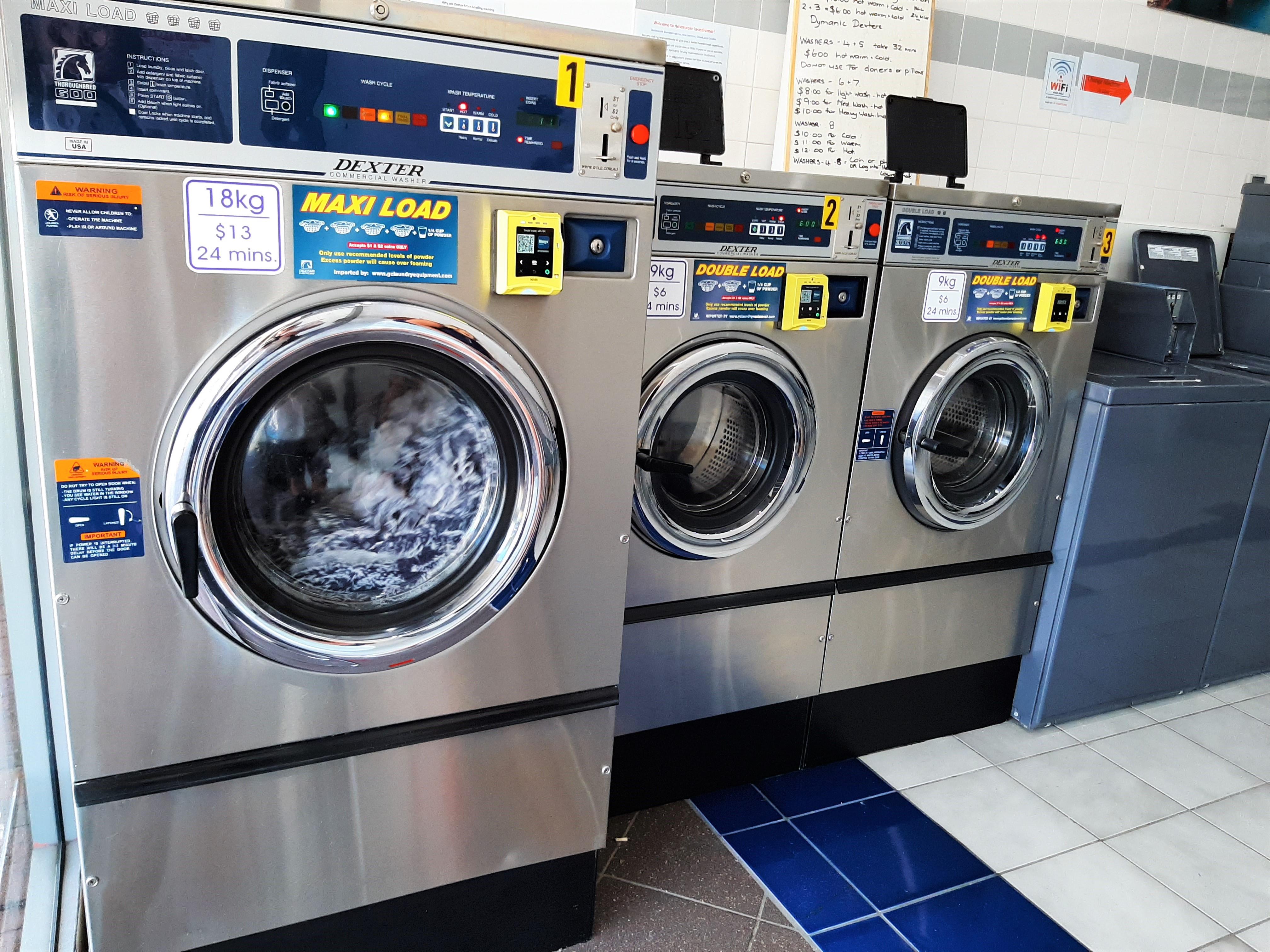 Washers adjusted